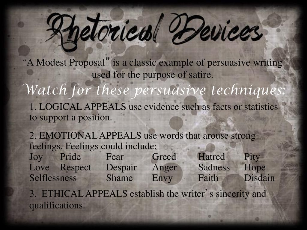 Jonathan Swift And A Modest Proposal Ppt Download