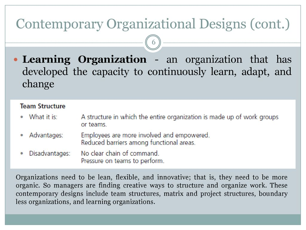 Chapter 11 Adaptive Organizational Design Ppt Download