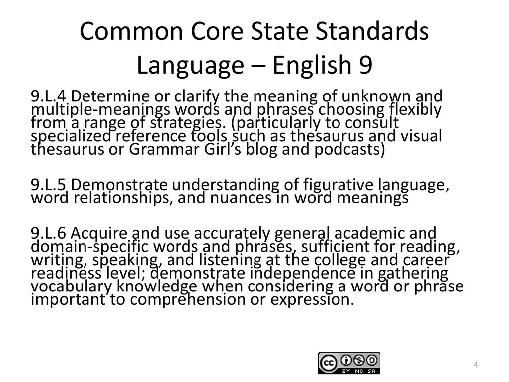 Common Core Standards Edition Ppt Download