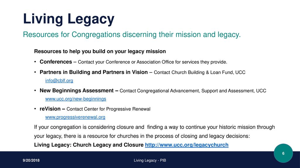 A Service of Church Building & Loan Fund - ppt download