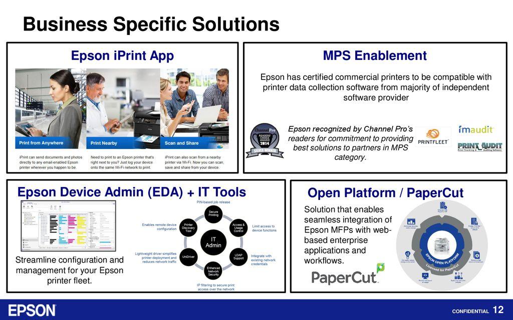 Business Printers Epson Partner Program  - ppt download