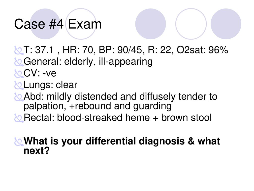 Case #1 24 healthy M with 1 day Hx of abd  pain  - ppt download