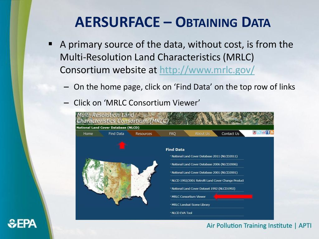AERSURFACE Hands-on Course #423 Day 1 Afternoon - ppt download