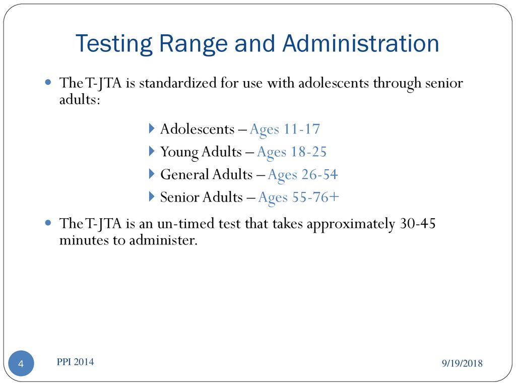 T-JTA® Introduction *Instructors for this seminar are