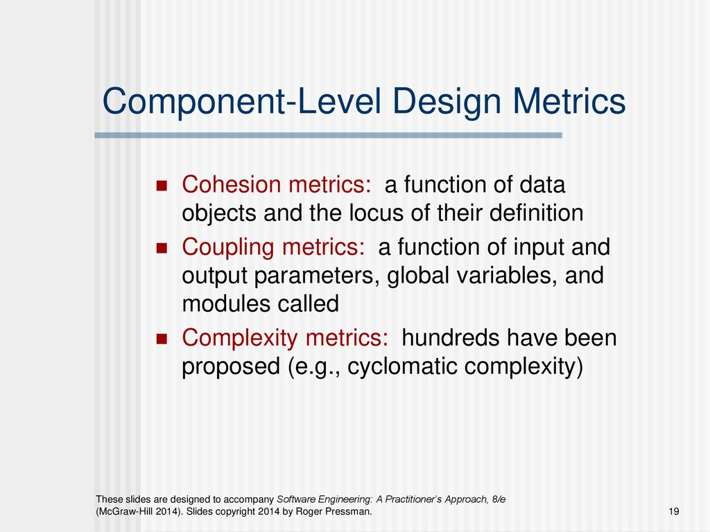 Chapter 30 Product Metrics Ppt Download