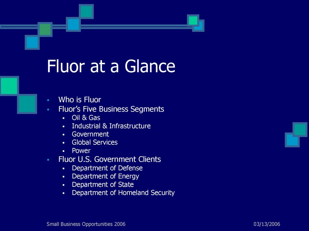 Marketing to Fluor Corporation - ppt download
