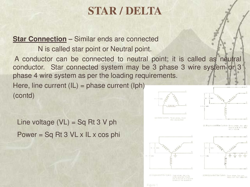 Power Distribution By Pv Pawar Cpp Ppt Download 3 Phase Star Delta Wiring Diagram 4