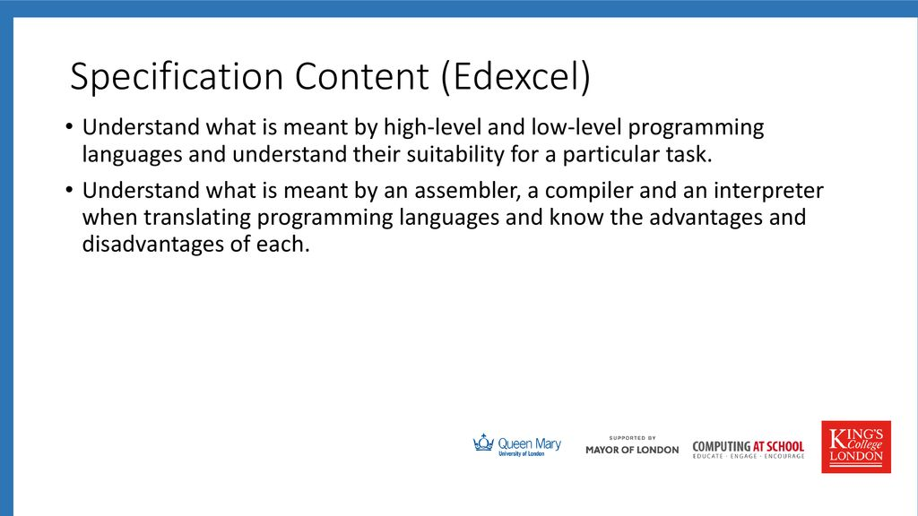 Teaching Computing to GCSE - ppt download