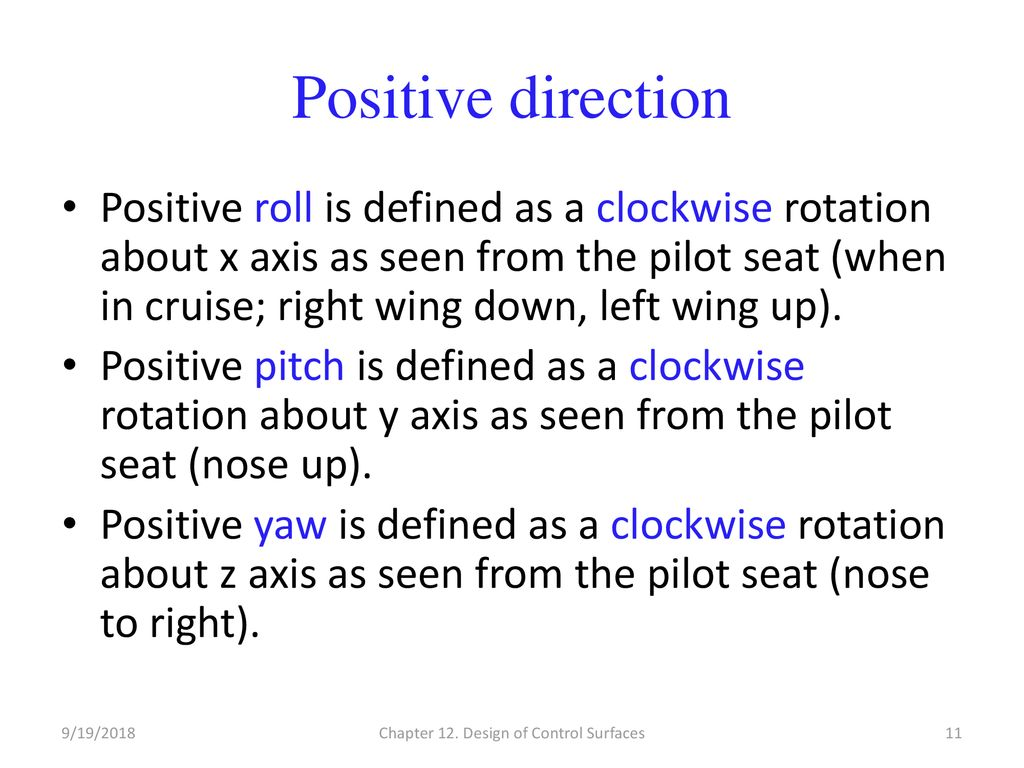 Chapter 12 – Part A Design of Control Surfaces - ppt download