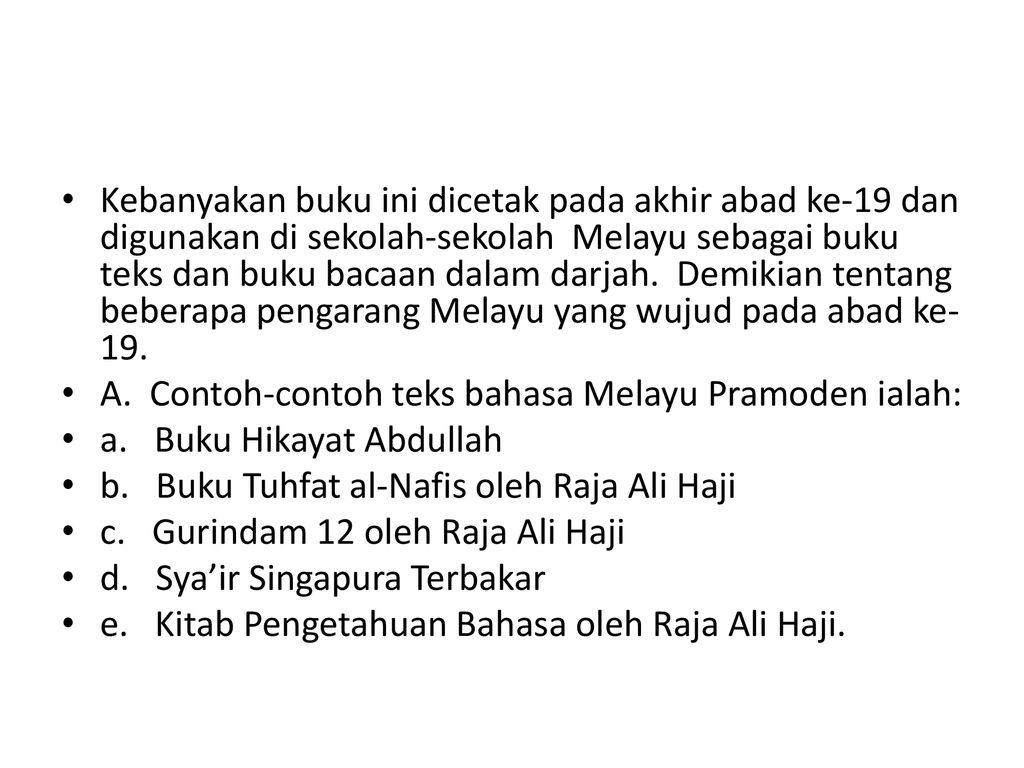 Bahasa Melayu Abad Ke 19 Bahasa Melayu Abad Ke 19 Sering Disebut
