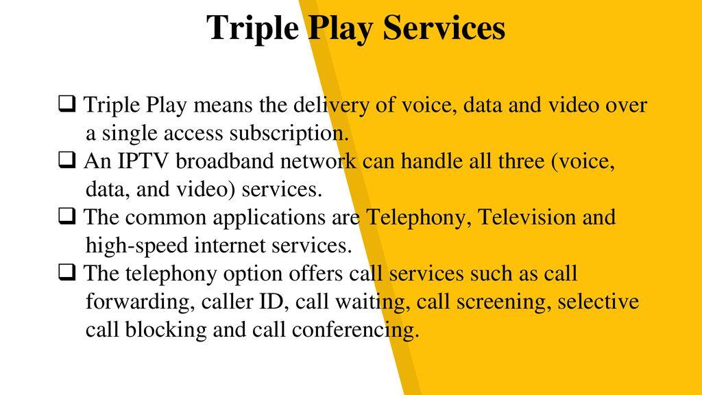 INTERNET PROTOCOL TELEVISION (IP-TV) - ppt download