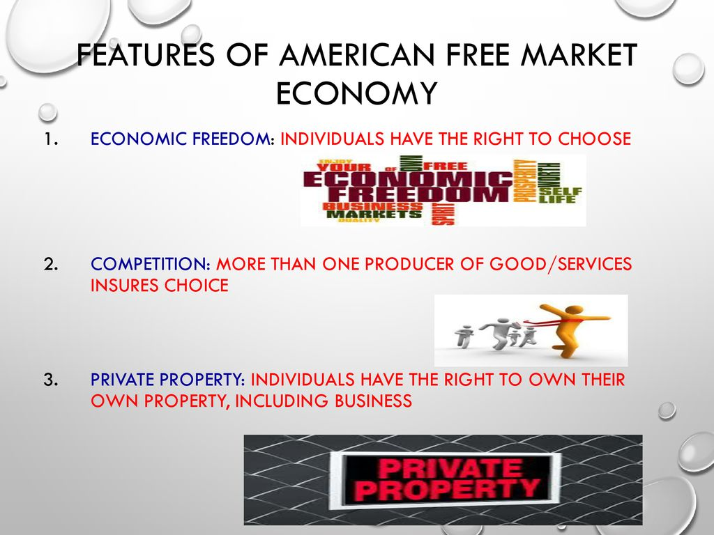 The main features of the free market - the ideal and the unattainable 30