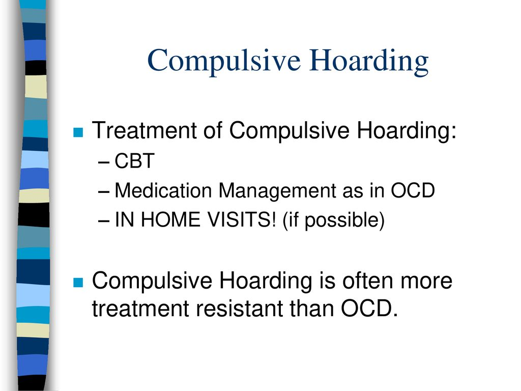 Obsessive-Compulsive Disorder: Diagnosis and Treatment - ppt