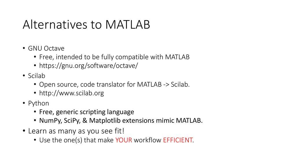 Gnu Octave Matlab