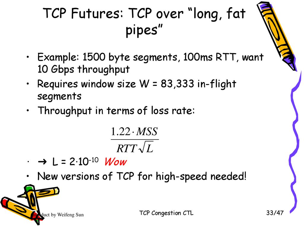 Chapter 3-3 TCP Congestion CTL * - ppt download