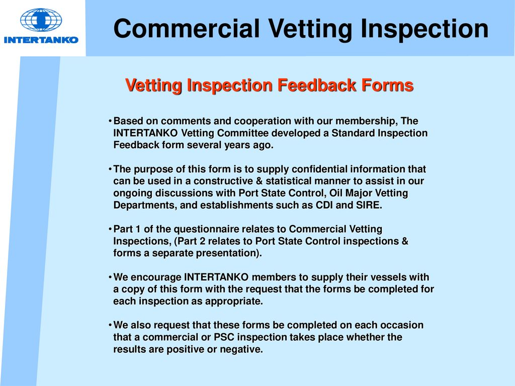 Sire Inspector Training Course 25th April Ppt Download