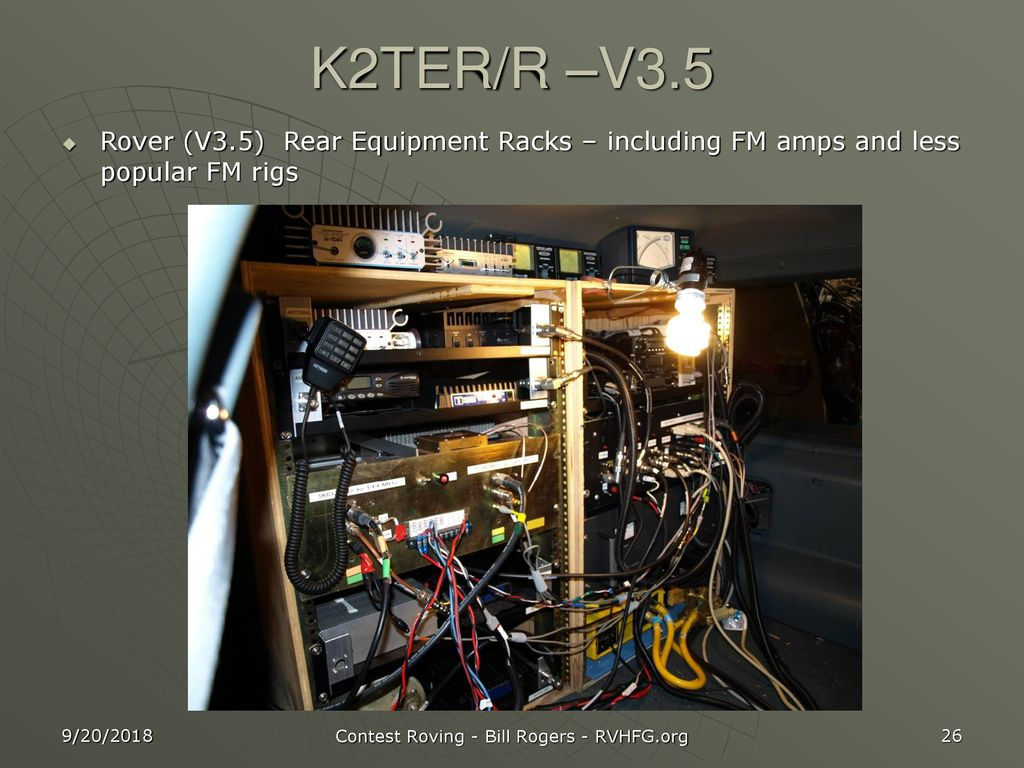 Vhf Contest Roving K2ter Ppt Download 2304 And 3456 Mhz Power Amplifiers 26