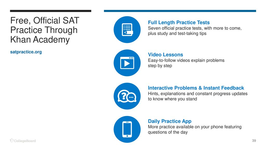 The SAT® Suite of Assessments - ppt download