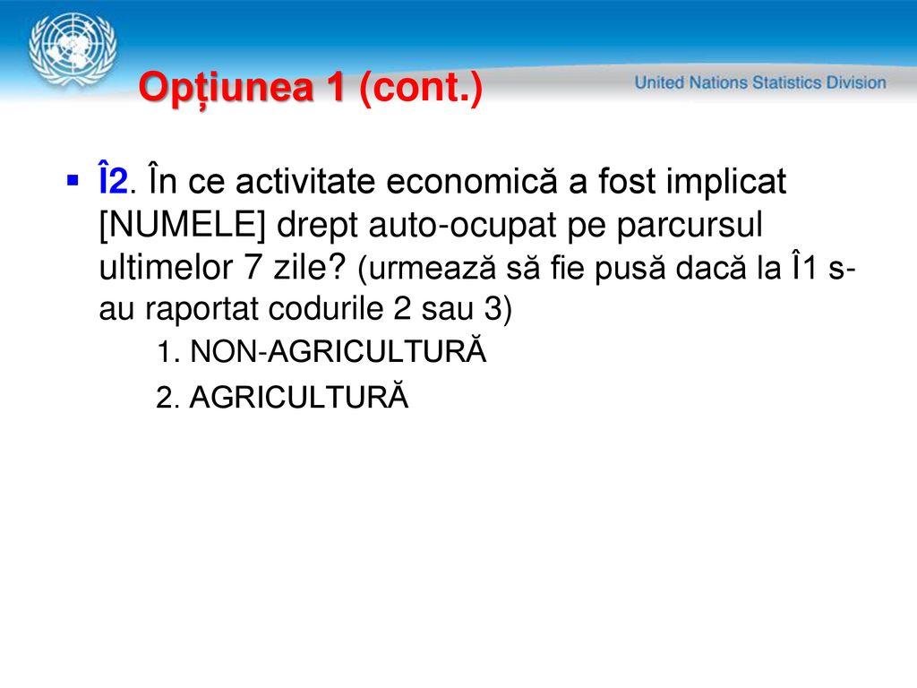 activitatea indicatorilor în opțiuni)