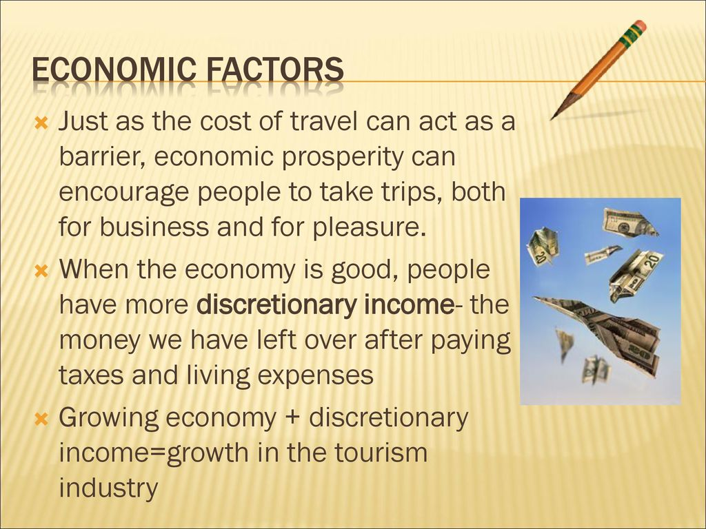 economic factors affecting travel and tourism industry