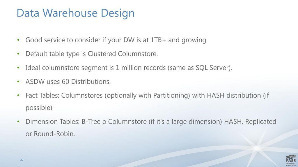 Azure SQL Data Warehouse for SQL Server DBAS - ppt download