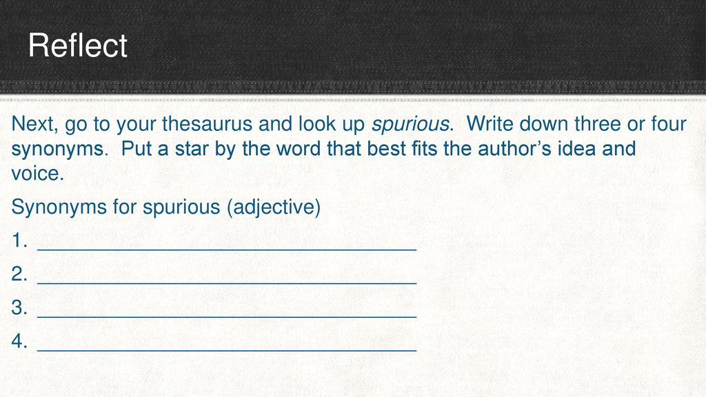 Word Choice  - ppt download