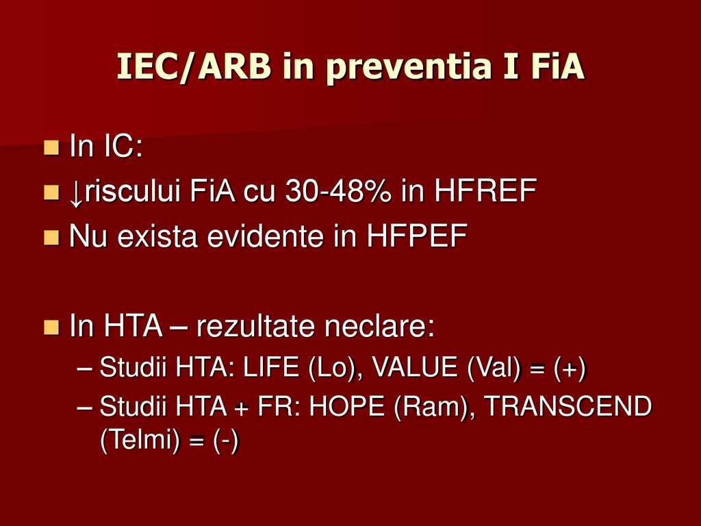 IEC/ARB in preventia I FiA
