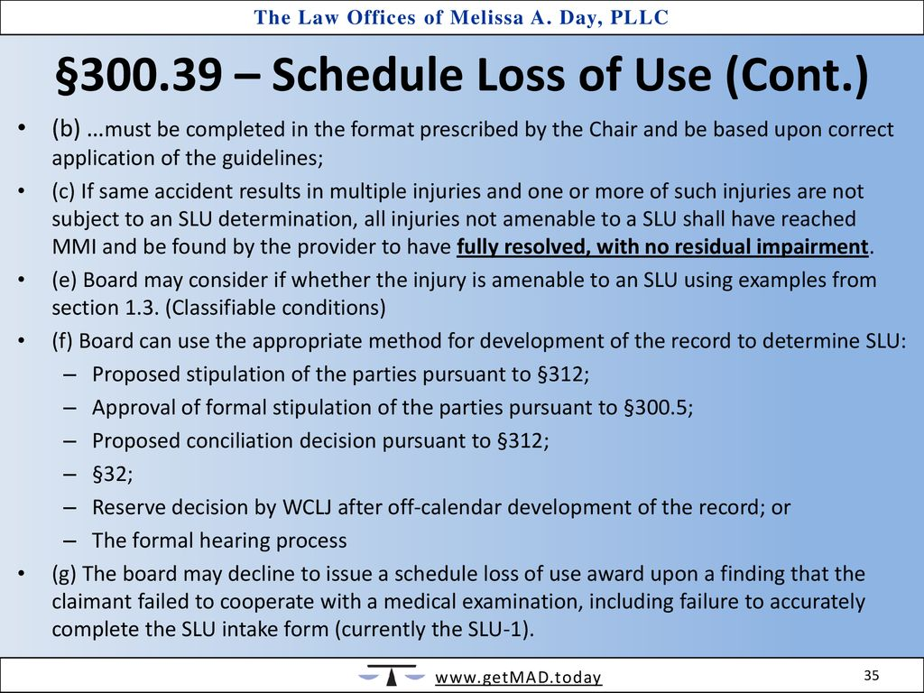 a modest proposal - proposed slu guidelines - ppt download