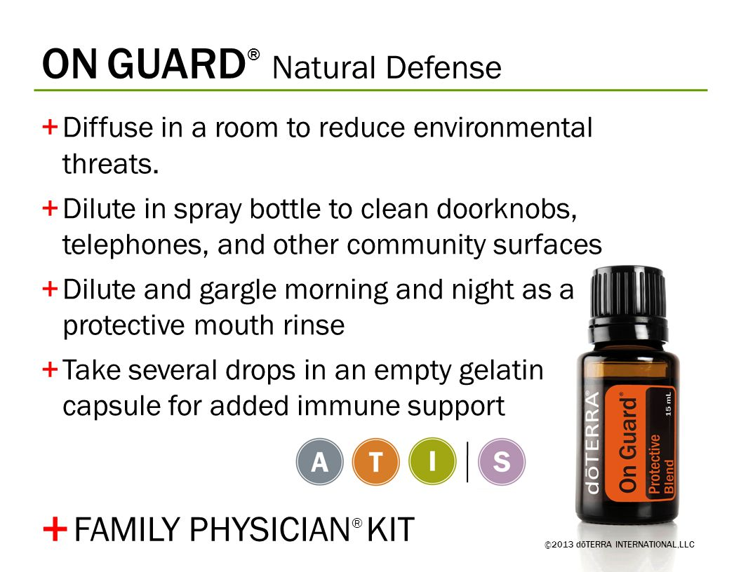 + ON GUARD® Natural Defense FAMILY PHYSICIAN® KIT