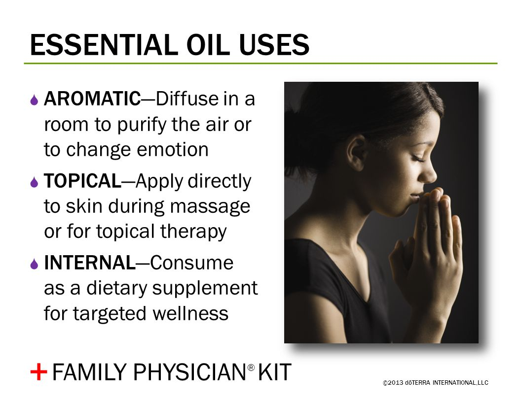 + ESSENTIAL OIL USES FAMILY PHYSICIAN® KIT