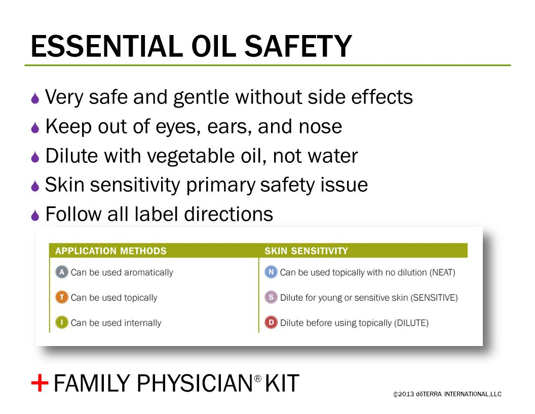+ ESSENTIAL OIL SAFETY FAMILY PHYSICIAN® KIT