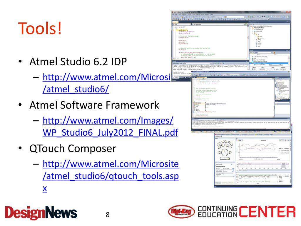 Class 3 Understanding Software Development Ppt Download Atmel Avr Mcu Family Expanded Studio 62 Idp Framework Qtouch Composer