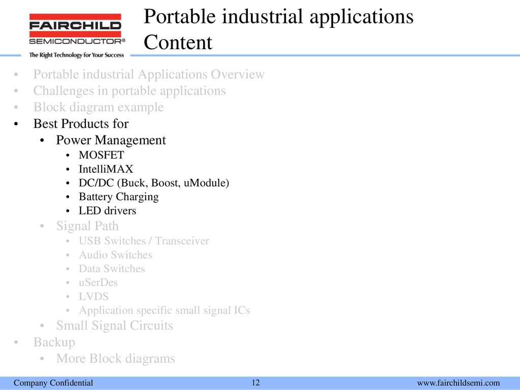 Portable Industrial Applications Ppt Download Usb Power Booster Circuit Diagram 12 Content