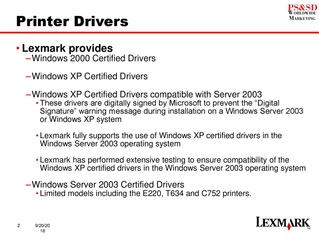 Lexmark business products ppt download.