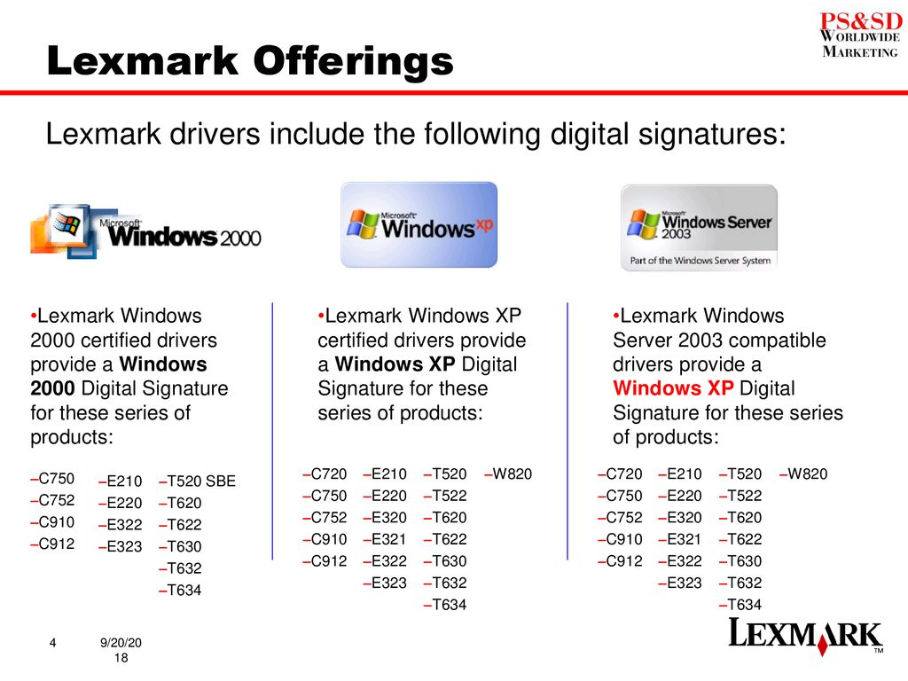 Lexmark e320 driver xp.