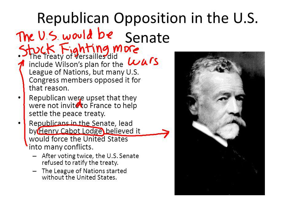 Republican Opposition in the U.S. Senate
