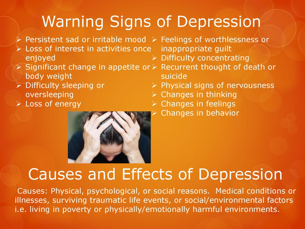 Mental and Emotional Problems - ppt download