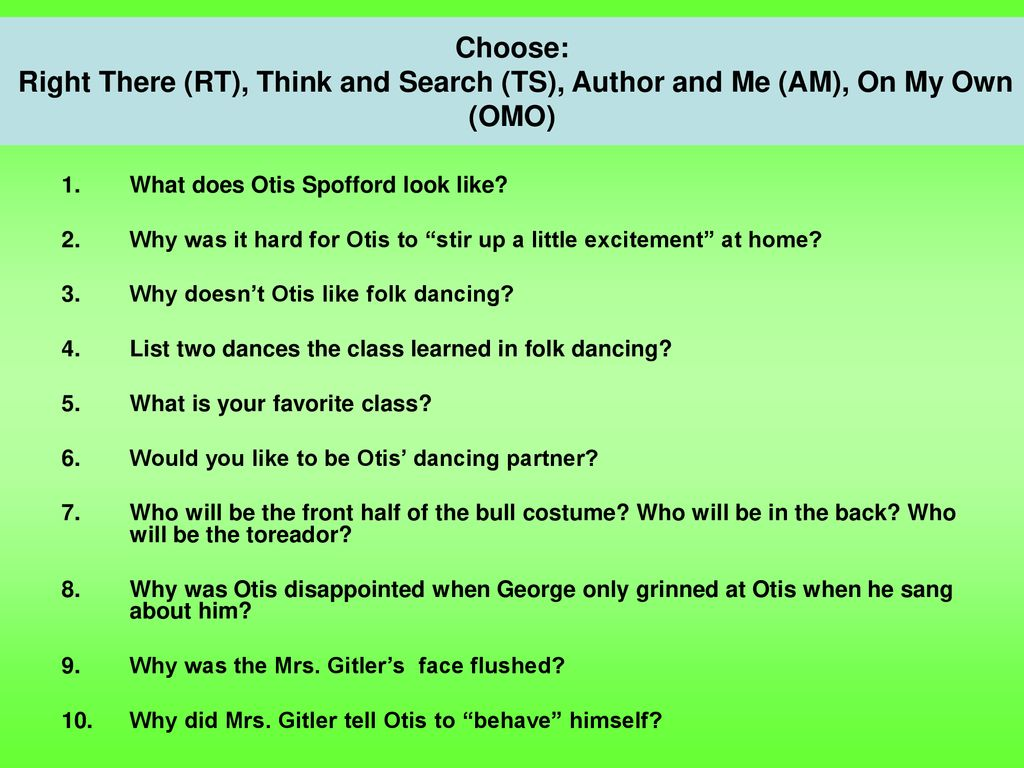 """Discussion Director """"The Questioner""""  - ppt download"""