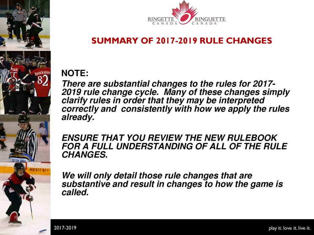 Rule Changes Points Of Emphasis Ppt Download