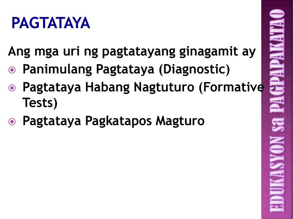 Edukasyon sa pagpapakatao - ppt download