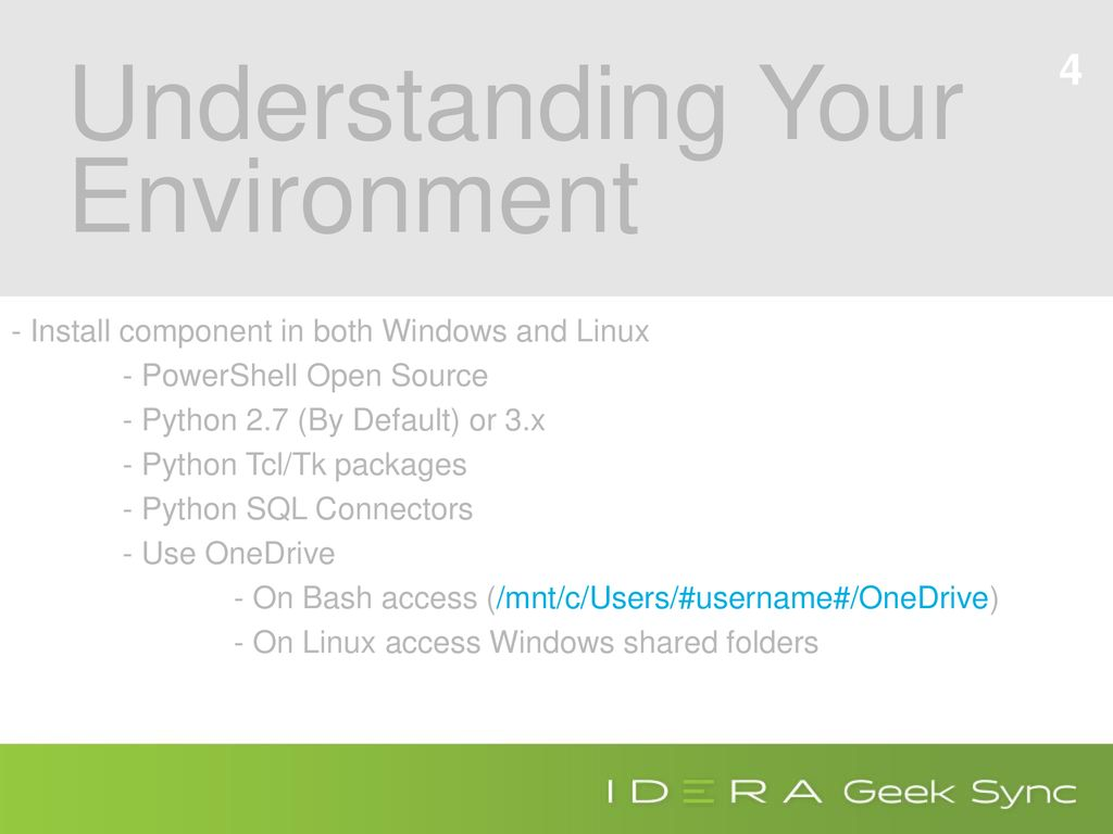Using PowerShell with Python & SQL Server - ppt download
