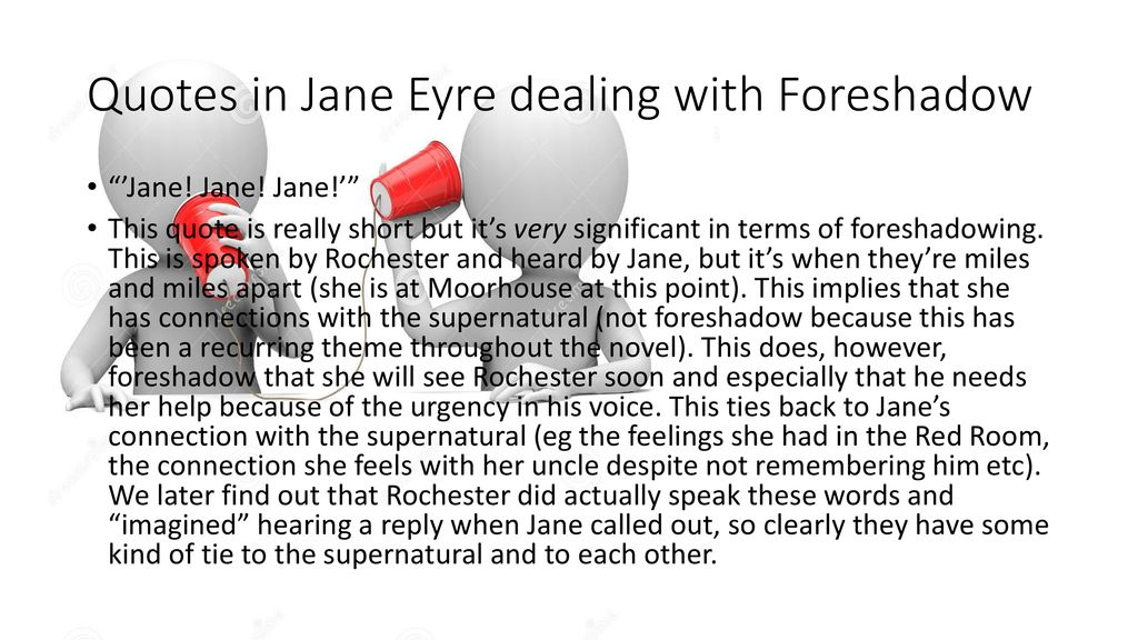 Jane Eyre Foreshadowing Element Ppt Download