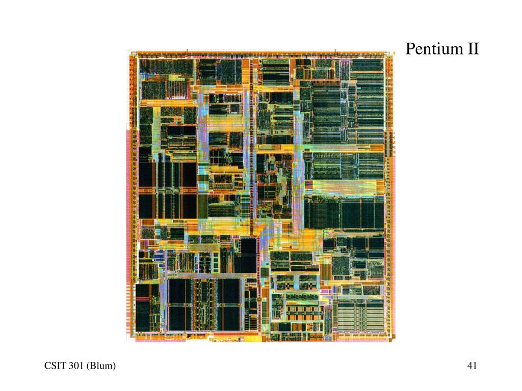 Processors Based In Part On Chapter 4 From Pc Hardware A Nutshell Pentium 2 Block Diagram Pdf 41 Ii Csit 301 Blum