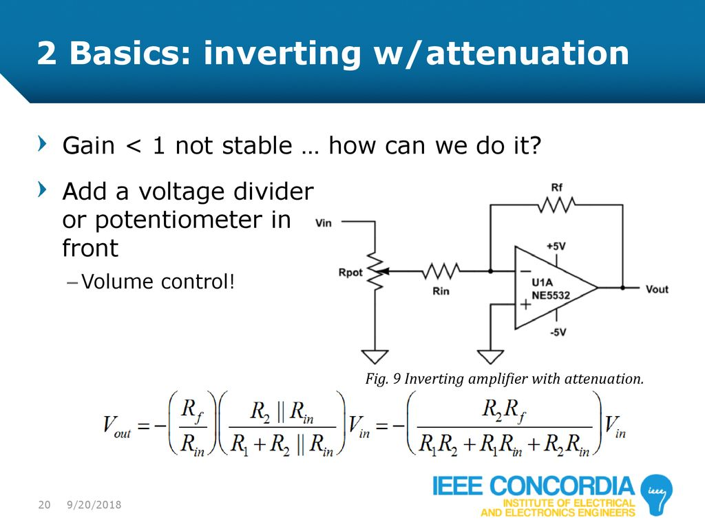 Intro to Analog & Audio Electronics - ppt download