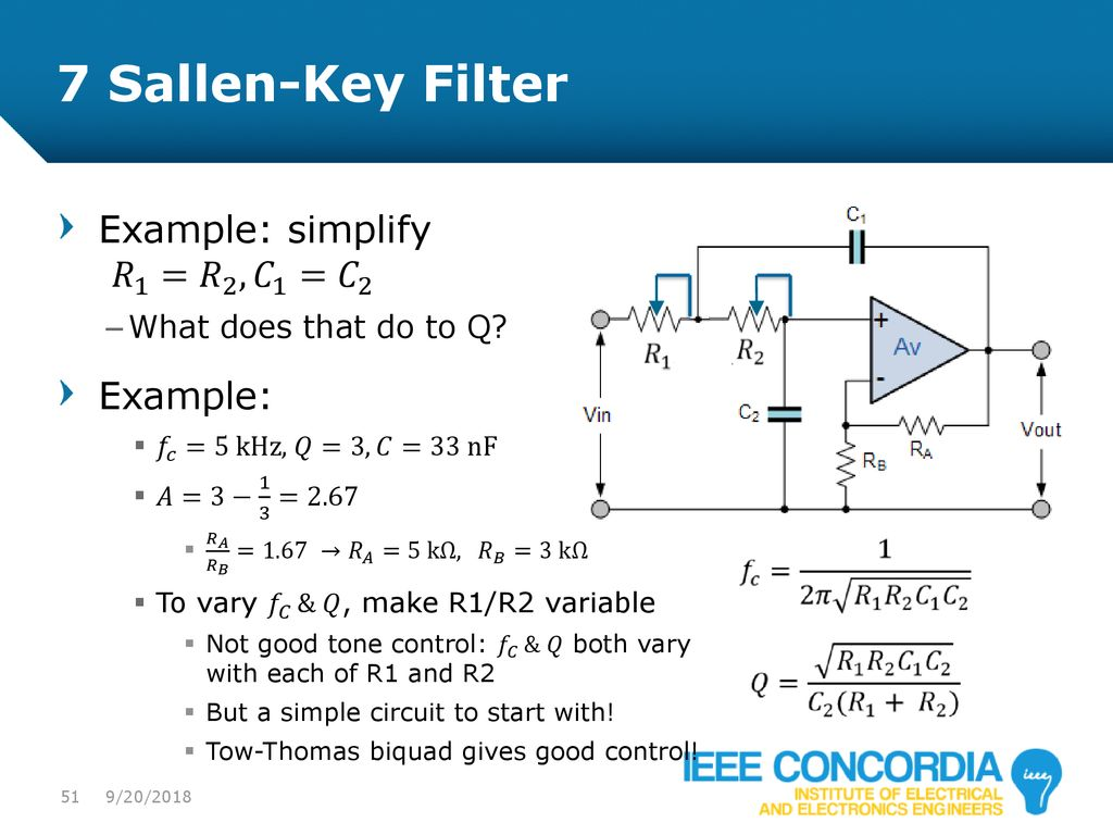 Intro To Analog Audio Electronics Ppt Download Schematic For A 3 Band Equalizer Circuit On Tone Control 51 Ieee