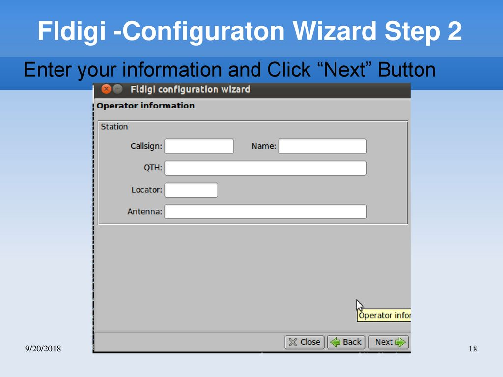 FLDigi for Narrow-Band Emergency Messaging System - ppt download