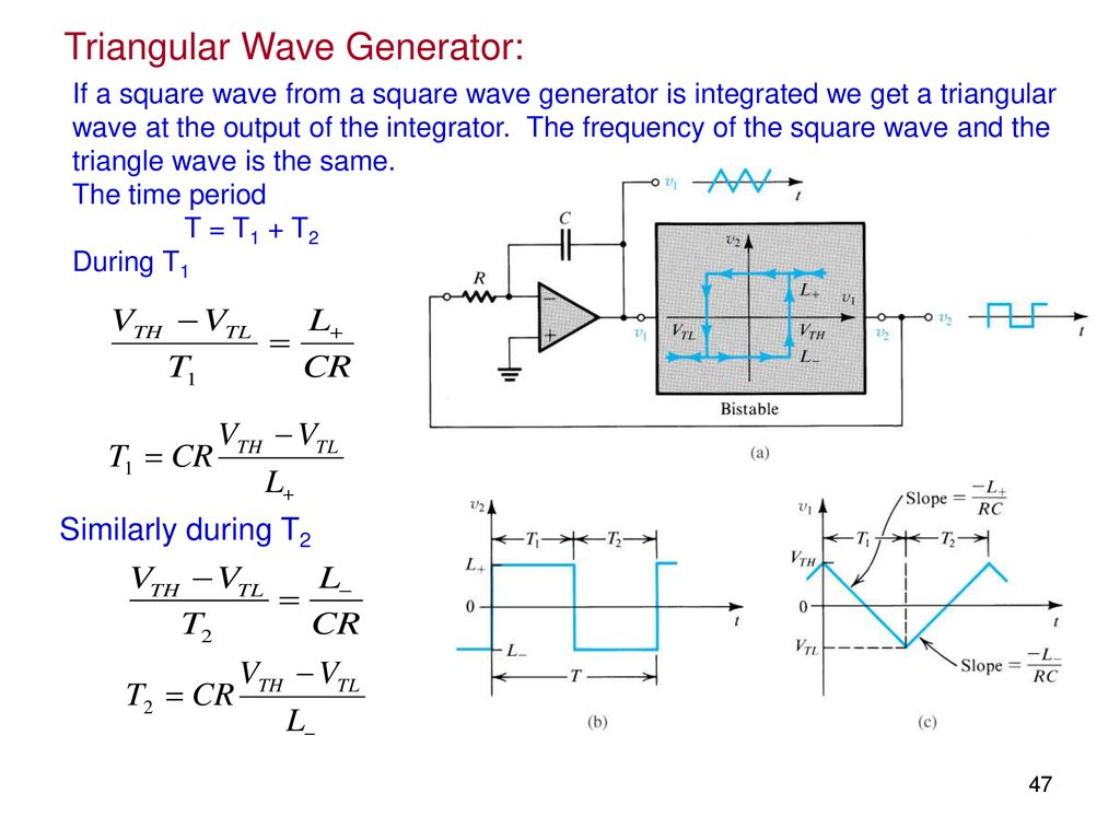 Elec207 Linear Integrated Circuits Ppt Download Triangle Wave Generator Schematic 47 Triangular
