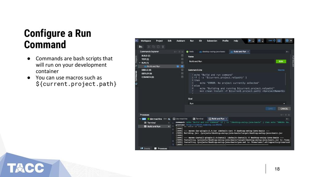 Java Run Command