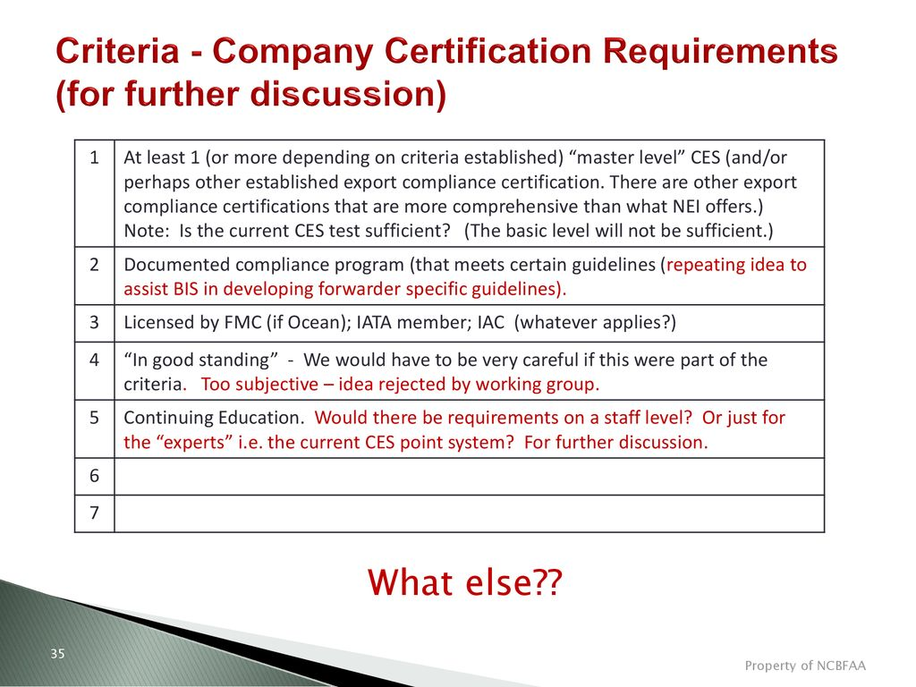 Forwarder Certification Analysis Final Work Product Ppt Download