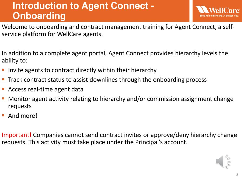 Agent Connect Onboarding and Agent Workflow Training - ppt